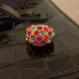 Kate spade costume jewelry ring EUC